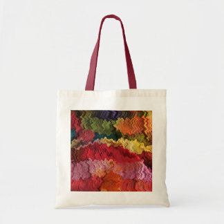 Colorful Fabric Abstract Tote Bag
