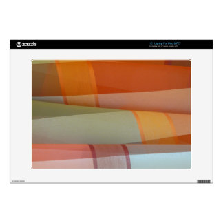 Colorful Fabric Laptop Decals