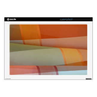 "Colorful Fabric Skins For 17"" Laptops"