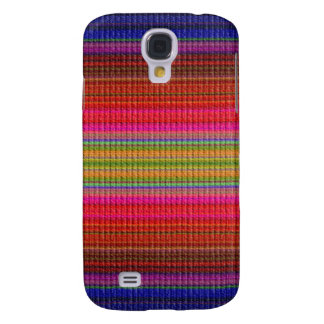 Colorful Fabric Textile  Cloth  Galaxy S4 Case