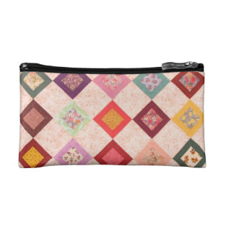 Colorful Fabrics Pattern Makeup Bags