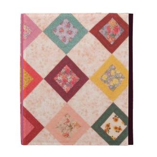 Colorful Fabrics Pattern iPad Folio Case