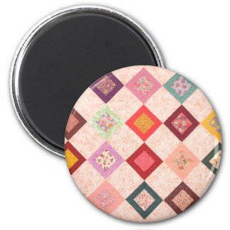 Colorful Fabrics Pattern Magnet