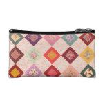 Colorful Fabrics Pattern Makeup Bags