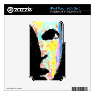 Colorful Face Skins For iPod Touch 4G
