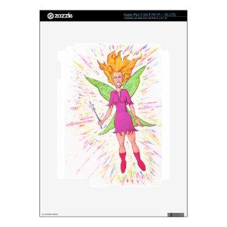 Colorful Fairy Skins For iPad 3