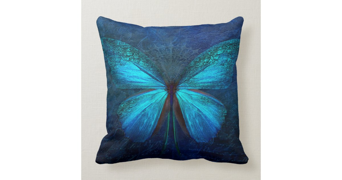 Colorful Fairytale Butterfly Throw Pillow | Zazzle.com