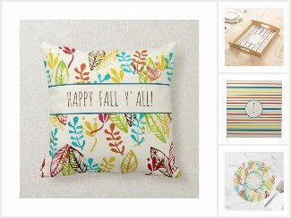 Colorful Fall Farmhouse Decor