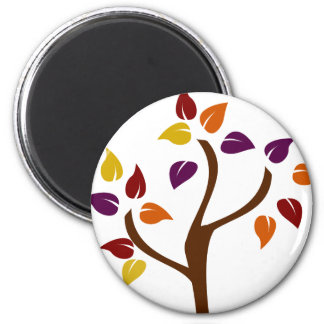 Colorful Fall Tree Magnet