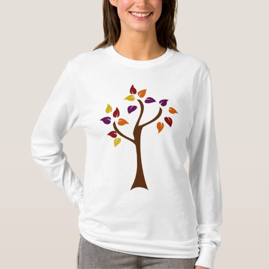 Colorful Fall Tree T-Shirt