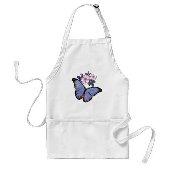 Colorful Fantasy  Butterfly-02 Adult Apron