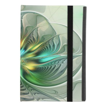 Colorful Fantasy Modern Abstract Flower Fractal iPad Mini 4 Case