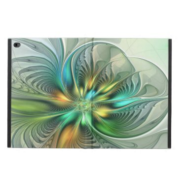 Colorful Fantasy Modern Abstract Flower Fractal Powis iPad Air 2 Case