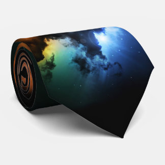 Colorful Fantasy Nebula Tie