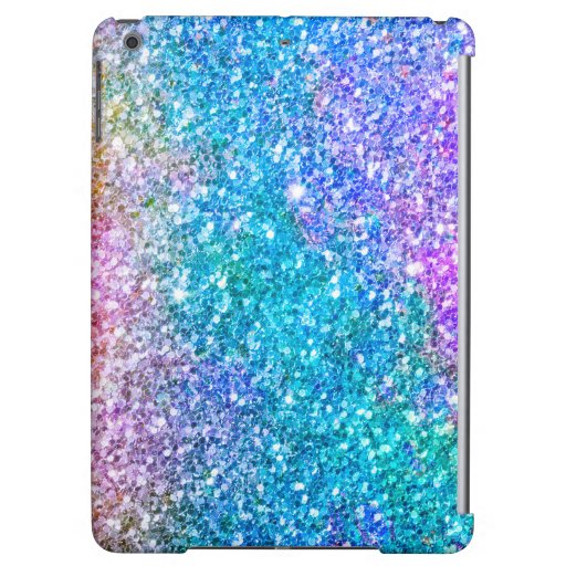Colorful Faux Glitter And Sparkles Texture Case For iPad Air