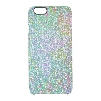 Colorful Faux Glitter & Sparkless Pattern Print