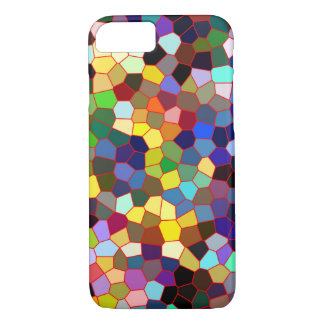Colorful Faux Stained Glass Look iPhone 8/7 Case