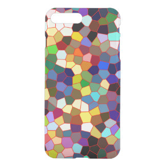 Colorful Faux Stained Glass Look iPhone 8 Plus/7 Plus Case