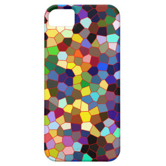 Colorful Faux Stained Glass Look iPhone SE/5/5s Case
