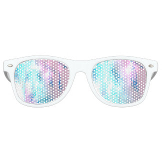 Colorful Feather Pring Retro Sunglasses