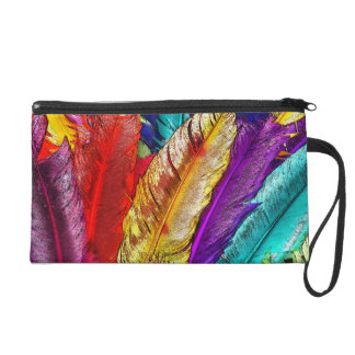 COLORFUL FEATHERS Accessory Bag