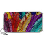 COLORFUL FEATHERS Doodle Speaker