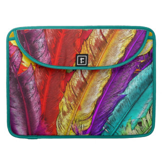 COLORFUL FEATHERS MacBook Pro Sleeve
