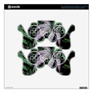Colorful Ferns Skin For PS3 Controller