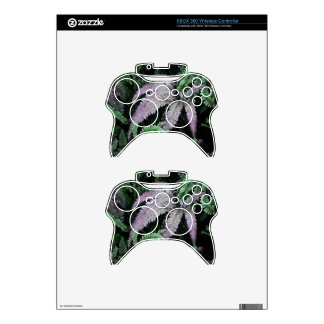 Colorful Ferns Xbox 360 Controller Skins