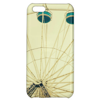 Colorful Ferris Wheel Green Photograph iPhone 5C Cases
