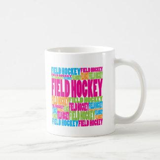 Colorful Field Hockey Coffee Mug