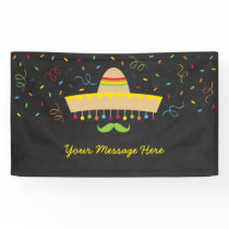 Colorful Fiesta Baby Shower Banner