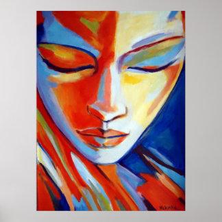 Colorful Fine Art  Prints - Beatiful portrait