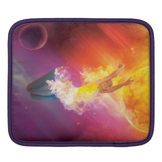 Colorful Fire Sleeve Sleeves For iPads