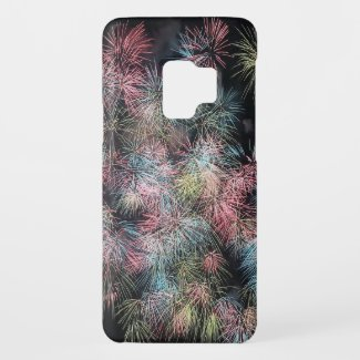 Colorful Firework... Case-Mate Samsung Galaxy S9 Case