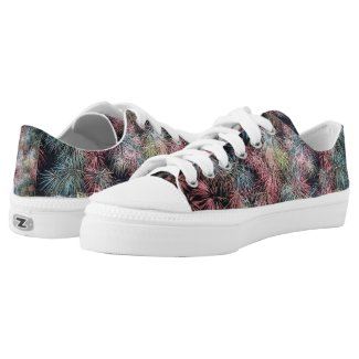 Colorful Firework... Low-Top Sneakers