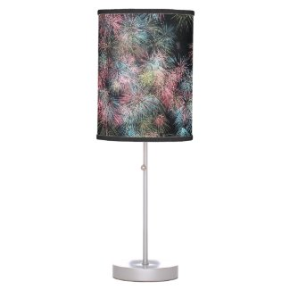 Colorful Firework... Table Lamp
