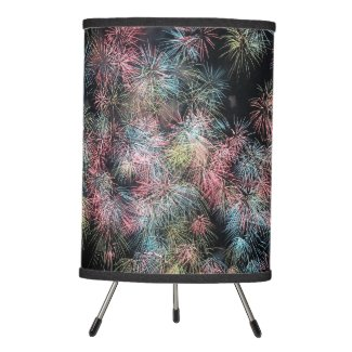 Colorful Firework... Tripod Lamp