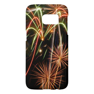 Colorful Fireworks Finale Samsung Galaxy S7 Case