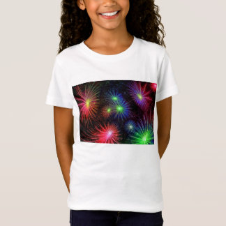 Colorful fireworks illustration T-Shirt