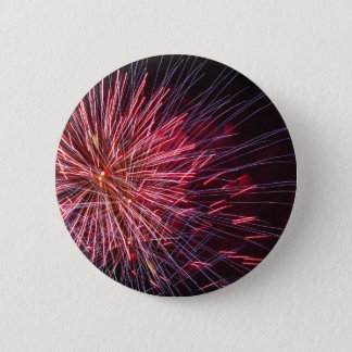 Colorful fireworks of various colors button