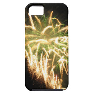 Colorful fireworks of various colors iPhone 5 covers