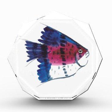 Beach Themed Colorful Fish Award
