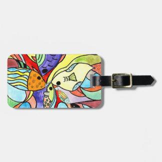 Colorful Fish Bag Tag
