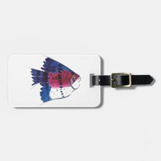 Colorful Fish Luggage Tag