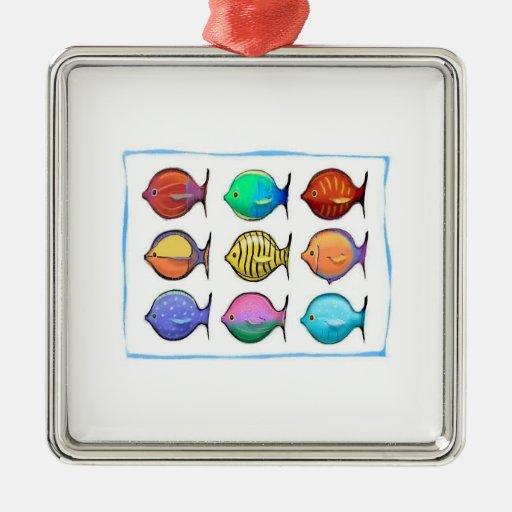 Colorful Fish Ornaments