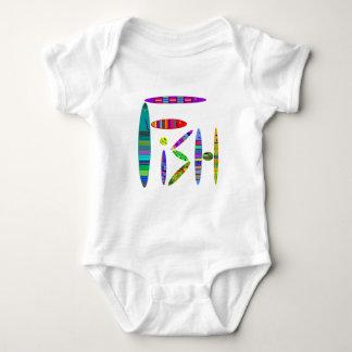 Colorful Fish Pattern Shirt