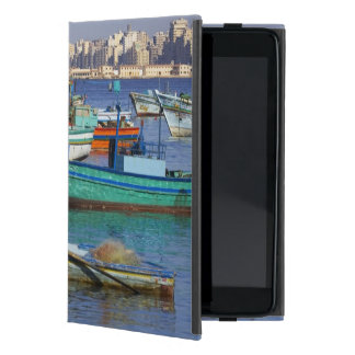 Colorful fishing boats in the Harbor of iPad Mini Case