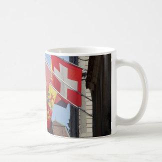 Colorful Flags in Geneva, Switzerland Coffee Mug