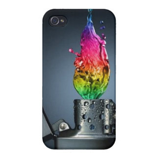 Colorful Flame - iPhone 4 Case